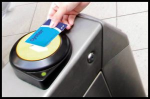 Londres Oyster card