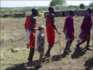Camp masai et Valentin